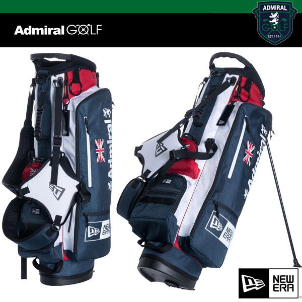 アドミラル x ニューエラ ゴルフ キャディバッグ ADMG 8SCB