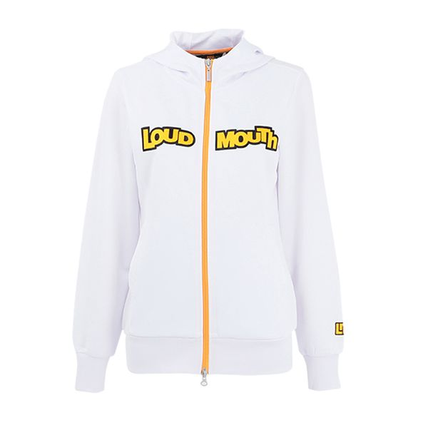 LOUDMOUTH GOLF ラウドマウス ゴルフ レディス ブルゾン 769450 / カラー: 999 White ホワイト 19年モデル (lmnk19t)