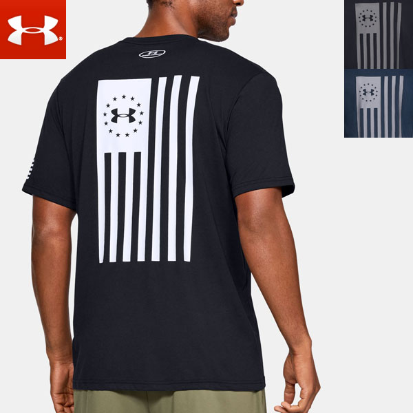 Under Armour Mens Freedom Flag T-Shirt White メンズ Tシャツ トップス アンダーアーマー