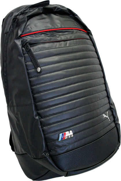 puma bmw backpack grey
