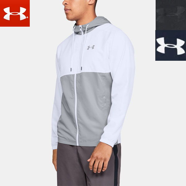 fcdd591741 UNDER ARMOUR cold gear long sleeves jacket men's full zip (zip up)  sports-style 1320124 UNDERARMOUR UA Sportstyle Woven Full Zip