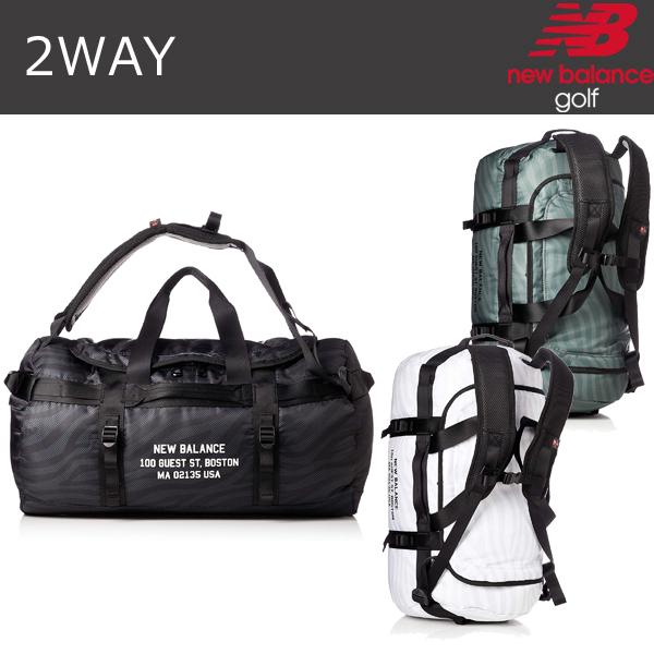 NEW BALANCE ゴルフ 2WAY ボストン バッグ 012-9181001 日本正規品 2019年モデル (ニューバランス)