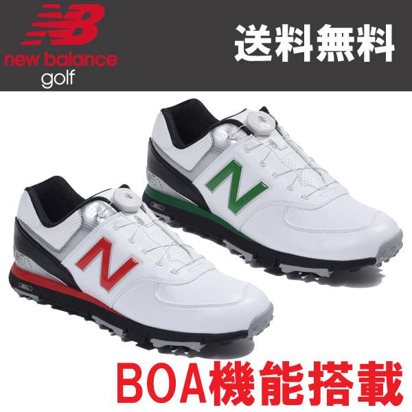 NEW BALANCE ゴルフ スパイク シューズ MGB574 日本正規品 2018年 追加カラーモデル BOA機能搭載モデル