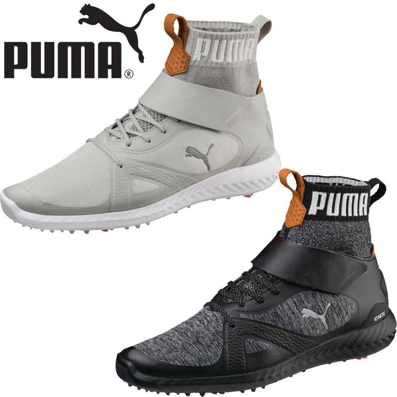 超話題新作 PUMA GOLF PUMA イグナイト パワーアダプト ハイトップ スパイク スパイク ゴルフシューズ 189932 2018春夏/ プーマゴルフ 日本正規品 2018春夏, 音羽町:cc26c397 --- jf-belver.pt