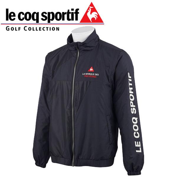 le coq sportif ルコック ゴルフウェア メンズ 中綿 ジャケット ブルゾン QGMOJK04 BK00 ブラック /  19fwpz