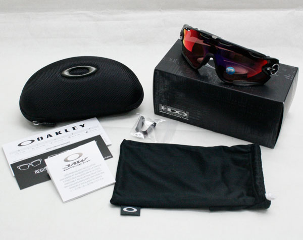 Oakley joubraker polarized lenses sunglasses OO9270-06 Asian fit fit OAKLEY POLARIZED JAW BREAKER USA models OO red Iridium polarized / polished black