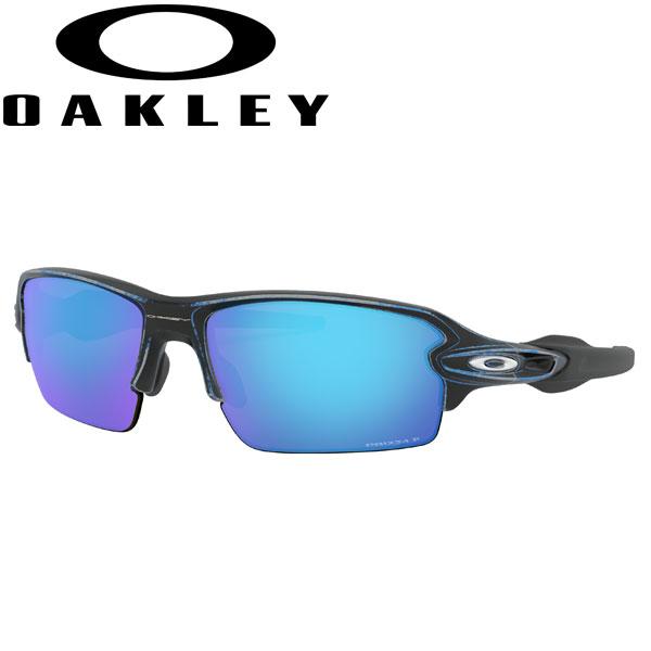 オークリー フラック2.0 サングラス プリズム サファイア 偏光レンズ アジアンフィット ジャパンフィット OO9271-3661 / おーくりー さんぐらす ぷりずむ