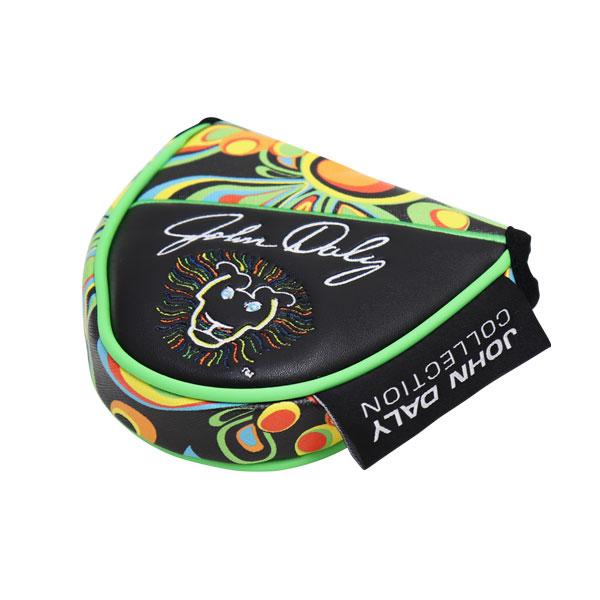 Loudmouth ラウドマウス メンズ レディース ヘッドカバー ジョン・デイリー コレクション ゴルフ マレット型 パター用 JD- HC0001/MT