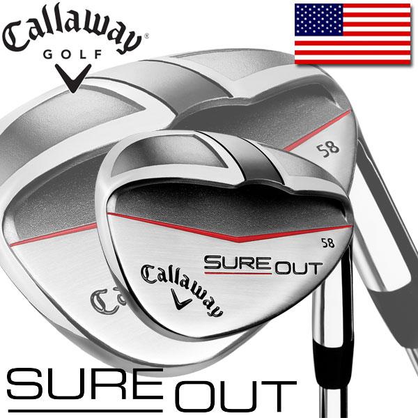 CALLAWAY GOLF SURE OUT WEDGE (キャロウェイ ゴルフ シュアアウト ウェッジ) USAモデル KBS Tour90 スチールシャフト
