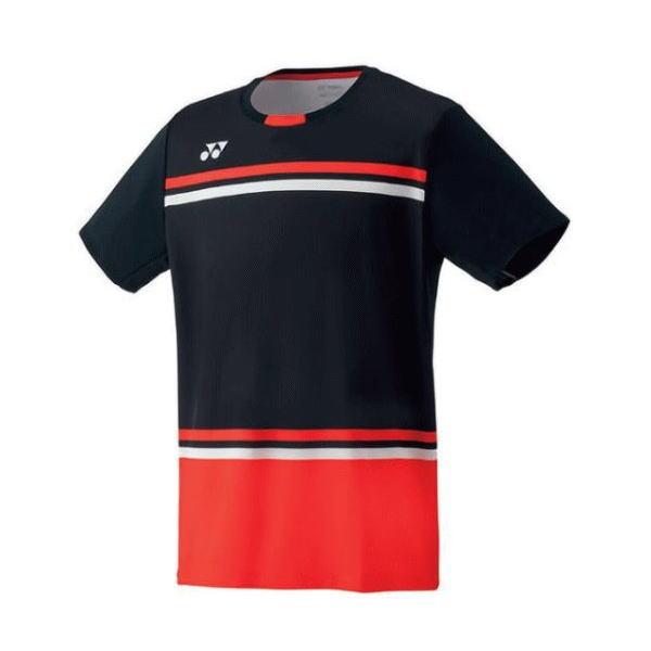 YONEX ヨネックス バドミントン ゲームシャツ(フィットスタイル) メンズ 10287 ブラック