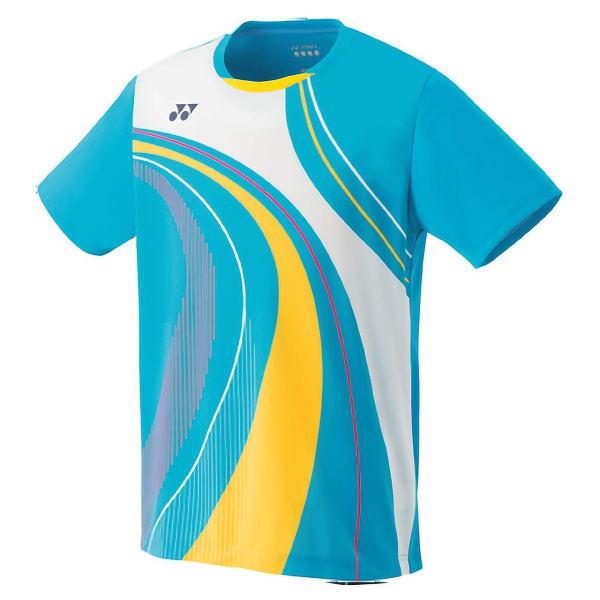 YONEX ヨネックス バドミントン ゲームシャツ(フィットスタイル) メンズ 10290 マリンブルー