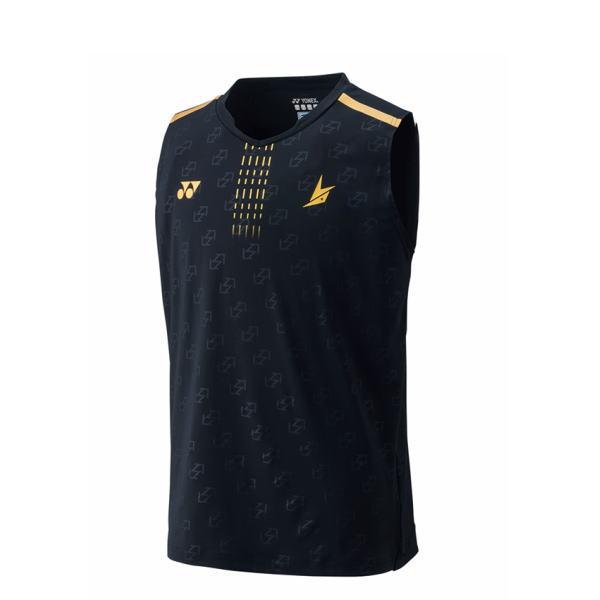 YONEX ヨネックス バドミントン ゲームシャツ(ノースリーブ) メンズ 10323 ブラック