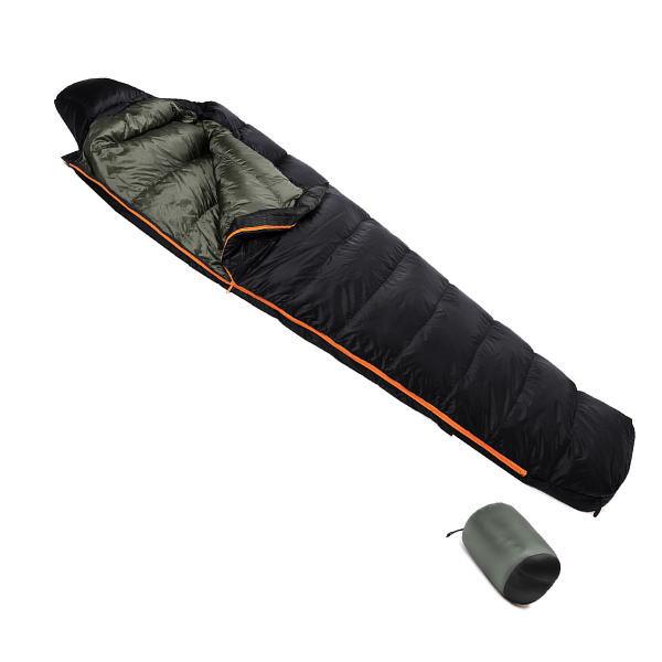 ダンロップ DUNLOP コンパクトダウンシュラフ 650g DL6500 ホワイトダックダウン寝袋