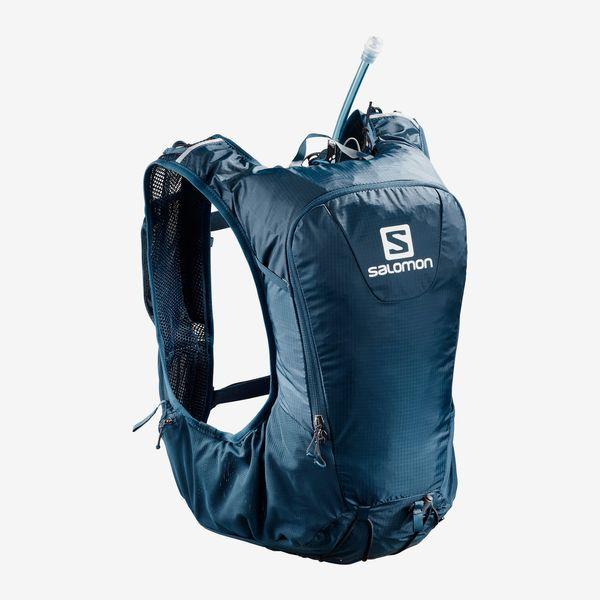 SALOMON サロモン トレイルランニング ベスト バックパック SKIN PRO 10 SET LC1092600 POSEIDON/NIGHT SKY