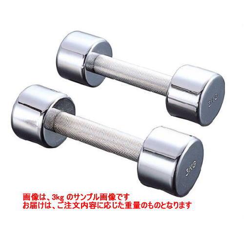 DANNO ダンノ クロームアレー 10kg[2本1組] D-389 ダンベル