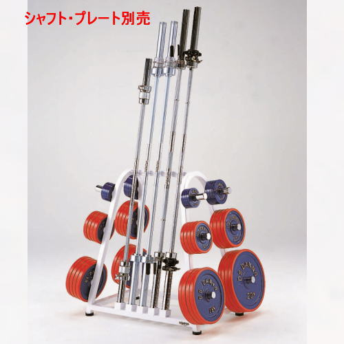 DANNO ダンノ DANTOS 筋トレ・ウエイトトレーニング バーベルラックDX50mm用 D-542