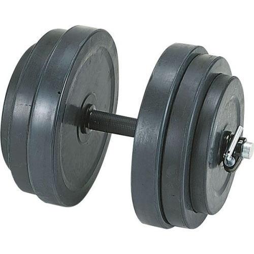DANNO ダンノ ラバーベルST28 20kg[φ29mm] D-5703 片手分1個 ゴム製ラバープレートダンベル