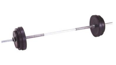 DANNO ダンノ ラバーバーベルST28 10kgセット[φ28mm] D-5710