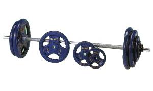 DANNO ダンノ グリップバーベル28 80kgセット[φ28mm] D-5815