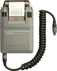 SEIKO セイコー システムストップウォッチSVAS005用システムプリンター SVAZ001