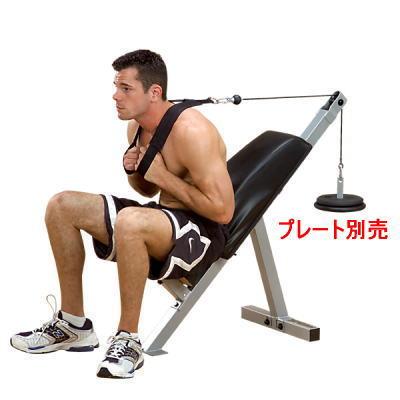 パワーライン POWERLINE by Body Solid ボディソリッド ソリッドアブ GAB-21 腹筋 筋トレマシン <在庫僅少>