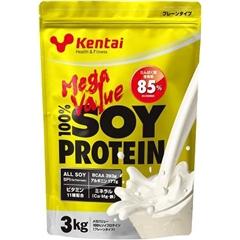 健康体力研究所 KENTAI メガバリュー100% ソイプロテイン 3kg プレーンタイプ