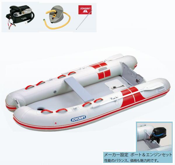 ジョイクラフト BBS-315 検付 4人乗りゴムボート トーハツ6PS4スト エンジン付き