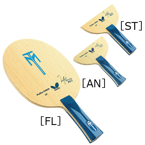 The-handshake-grip for butterfly Butterfly table tennis ラケットティモボル, the ALC ST straight 35864 attack