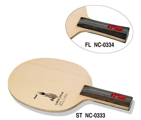 ニッタク Nittaku 卓球ラケット ラージスピア FL ラージボール用攻撃用シェークハンド NC-0334