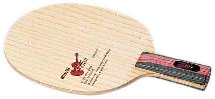 ニッタク Nittaku 卓球ラケット バイオリンC NE-6648 ドライブ攻撃用ペンホルダー丸