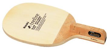 ニッタクNittaku卓球ラケットトレファイヤーNE-6656ドライブ攻撃用ペンホルダー角丸