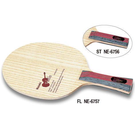ニッタク Nittaku 卓球ラケット バイオリン 攻撃用シェークハンド ST NE-6756 ストレート