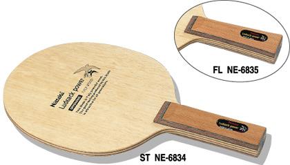 ニッタク Nittaku 卓球ラケット ルデックパワー 攻撃用シェークハンド FL NE-6835 フレア