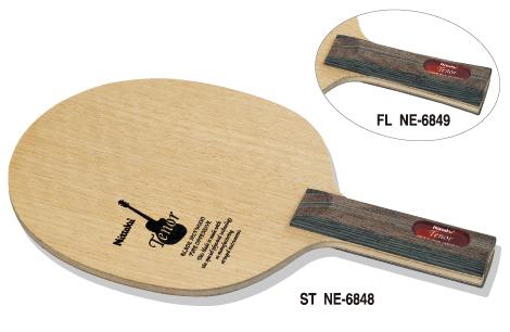 ニッタク Nittaku 卓球ラケット テナー 攻撃用シェークハンド FL NE-6849 フレア