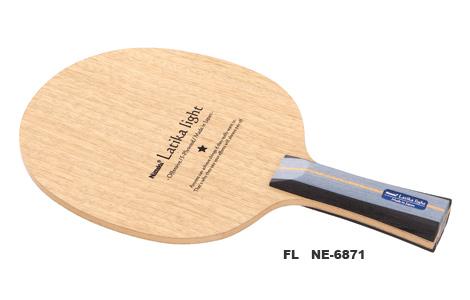 ニッタク Nittaku 卓球ラケット ラティカライト 攻撃用シェークハンド FL NE-6871 フレア