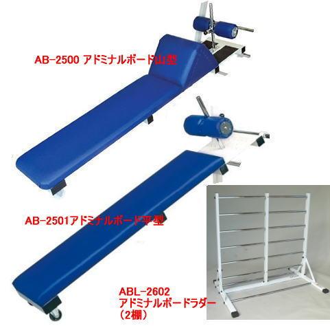 アブドミナルボード平型 筋トレ腹筋ベンチAB-2501&山型AB-2500&ラダーABL-2602 セット[S]