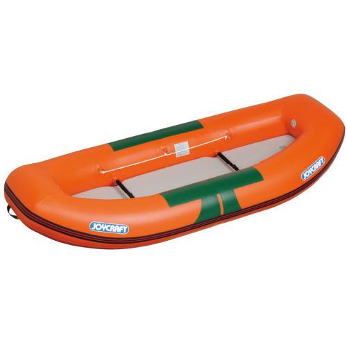 JOYCRAFT ジョイクラフト 川下り用ラフティングボート RB-275 検無2人乗りゴムボート オレンジ