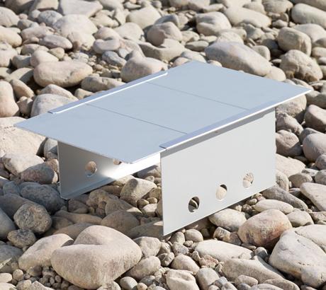 ダンロップDUNLOP組み立て式コンパクトテーブルアルミBHS102アルミ天板