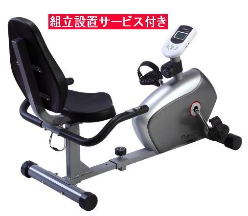 DAIKOU ダイコー DK-8304R リカンベントバイク フィットネスバイク 組立設置サービス付き<在庫僅少>