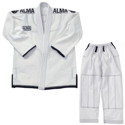 ALMA アルマ SUPERNOVA スーパーノヴァ コンペディションキモノ国産柔術着 JU3 A5 白 上下セット