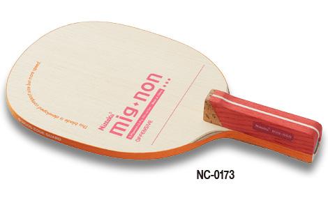 ニッタク Nittaku 卓球ラケット ミグノンR NC-0173 攻撃用日本式ペンホルダー