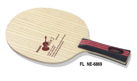 ニッタク Nittaku 卓球ラケット バイオリンJ 攻撃用シェークハンド FL NE-6869 フレア