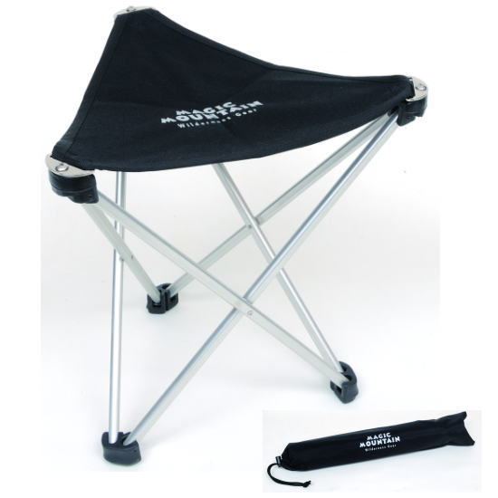 MAGIC MOUNTAIN magic mountain folding folding chair trail chair MC100 silver
