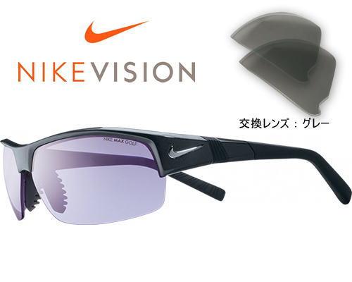 NIKE ナイキ スポーツサングラス ゴルフ SHOW X2 ショー EV0621 交換レンズ付き カラー095