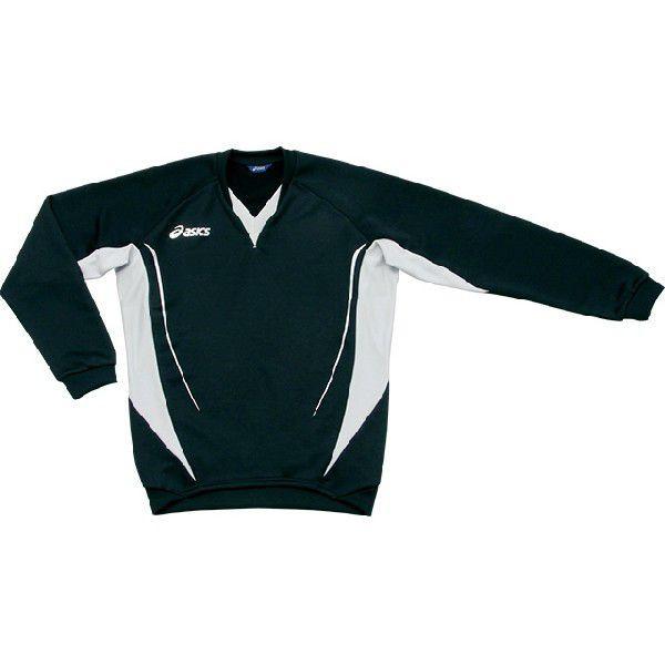アシックス サッカー・フットサル スウェットシャツ XS5027 長袖 ブラック<店頭在庫限り>