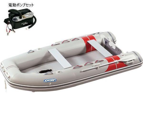 ジョイクラフト JEX-335プレミアムスタイル 検付 5人乗りゴムボート