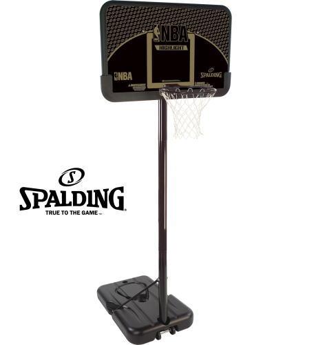 スポルディング 家庭用バスケットボールゴール ハイライトコンポジットシリーズ 77685CN