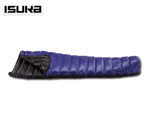ISUKA イスカ 寝袋シュラフ ダウン エア 150 X 1373 12 ロイヤルブルー