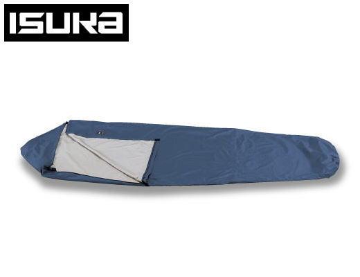 ISUKA イスカ ゴアテックス シュラフカバー ウルトラライト ワイド 2008 21 ネイビーブルー