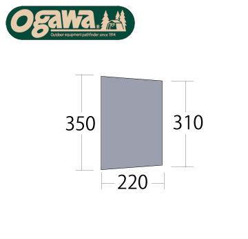 Campal Japan キャンパルジャパン テント床下 PVCマルチシート パラディオ56用 1409